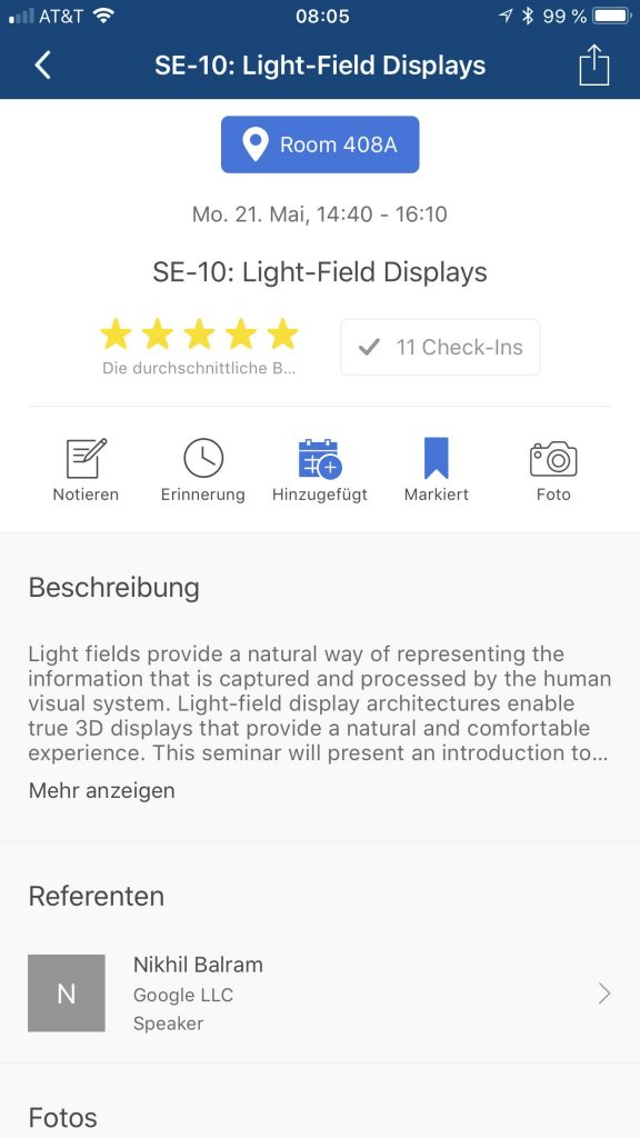 SE-10: Light-field displays